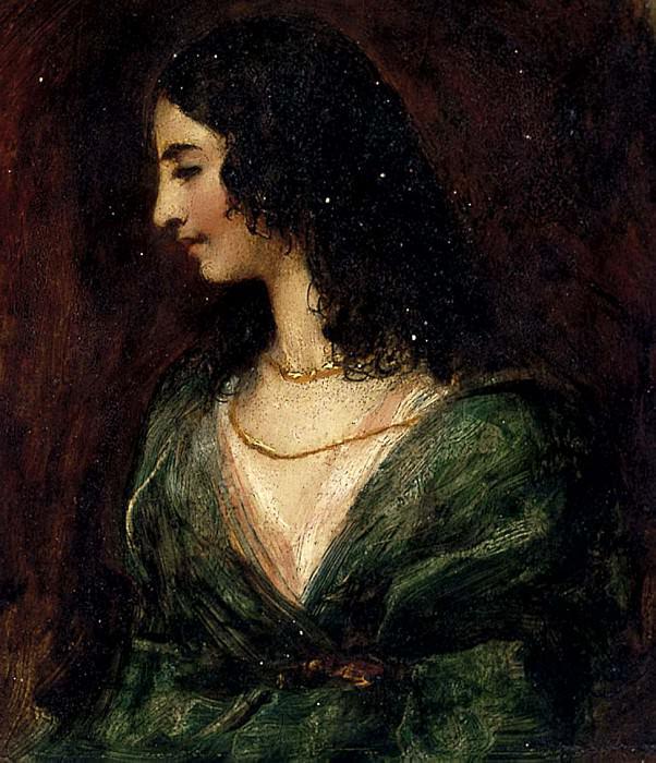 Portrait of a Lady. William Etty