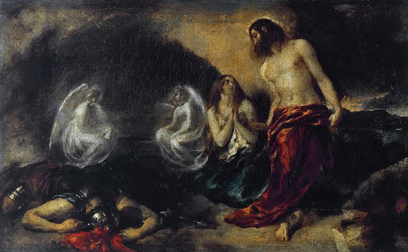 Christ Appearing to Mary Magdalene after the Resurrection. William Etty