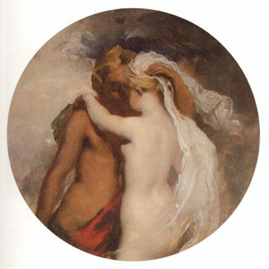 Nymph and Satyr. William Etty