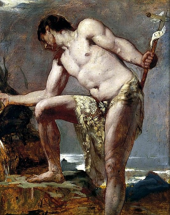 St. John the Baptist. William Etty