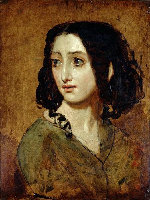 Portrait of Mlle Rachel. William Etty