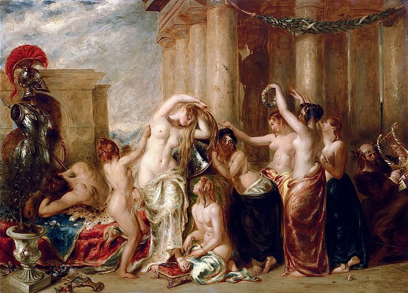 Venus And Her Satellites. William Etty