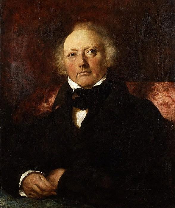 Portrait of James Atkinson. William Etty