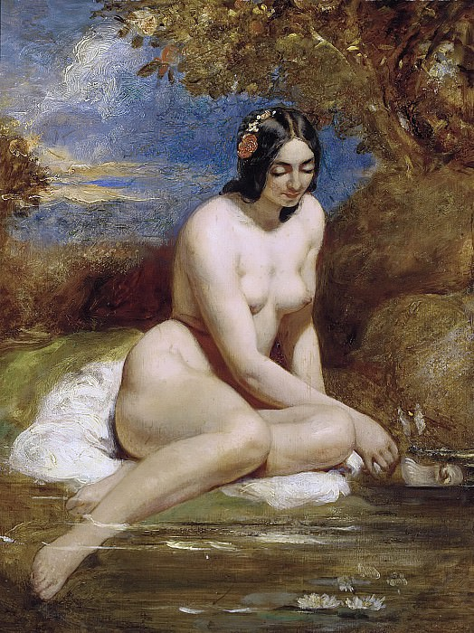 The bather. William Etty
