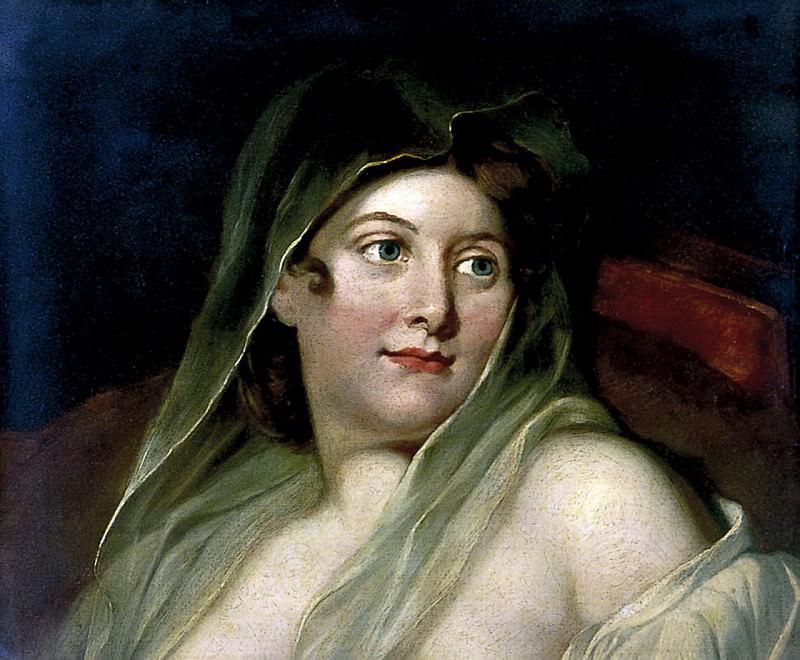 Woman with a Head Veil. William Etty