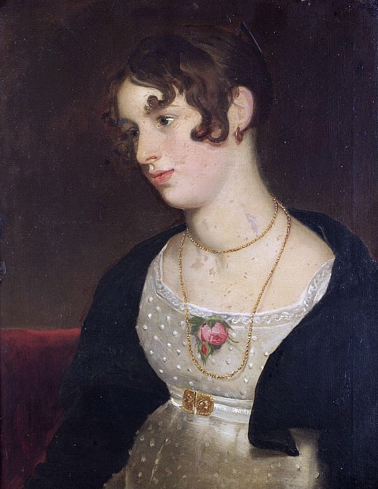 PORTRAIT OF KITTY, THE ARTISTS NIECE. William Etty