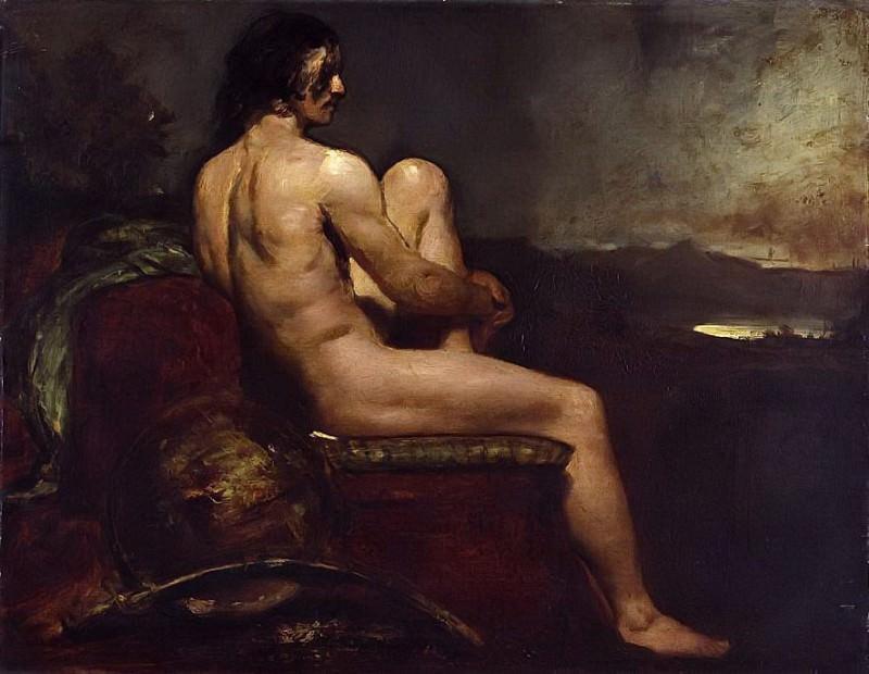 Male Warrior. William Etty