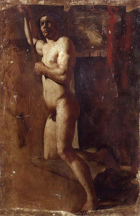 Male Nude. William Etty