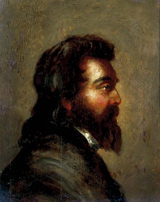 Голова мужчины. Уильям Этти