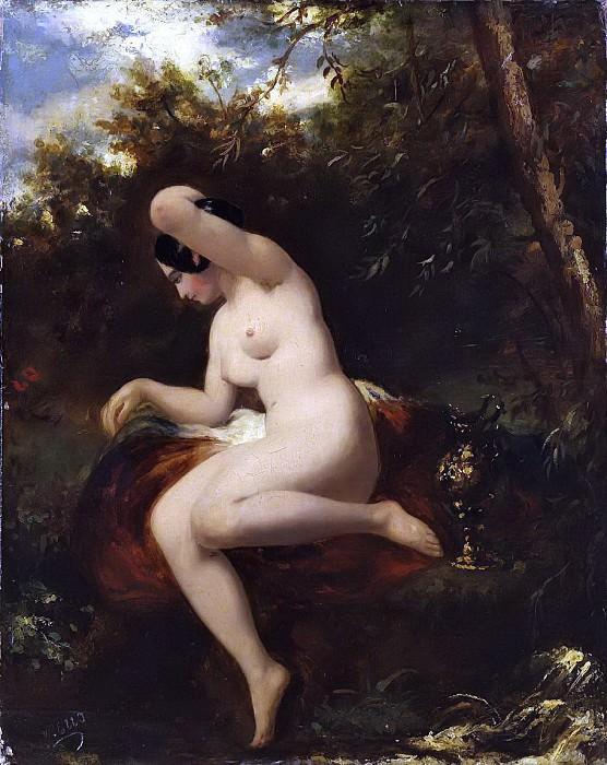 Female Nude (Magdalen). William Etty