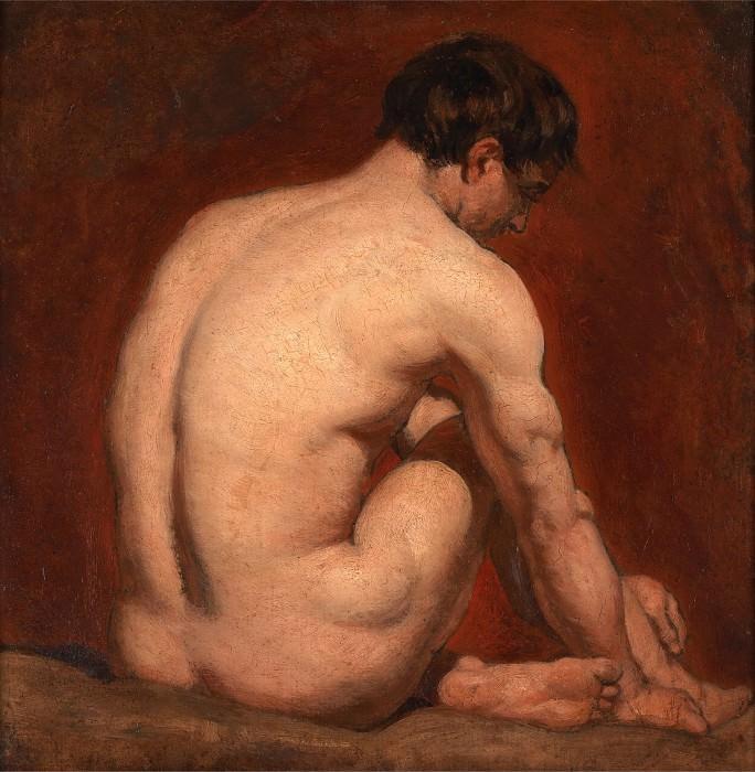 Сидящий обнаженный. Уильям Этти