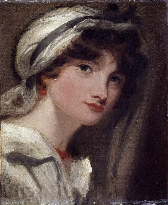 Mary, Lady Templeton, after Thomas Lawrence. William Etty