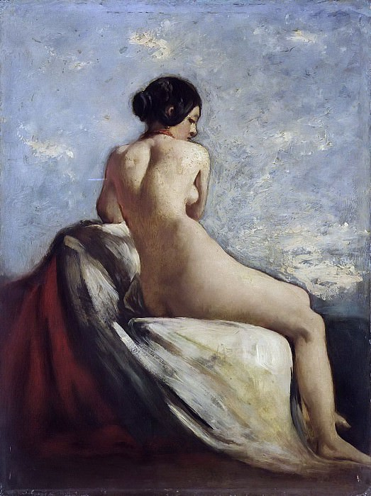 A Bather. William Etty