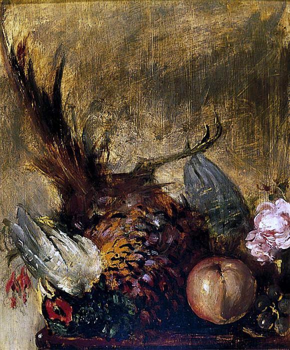 Dead Pheasant and Fruit. William Etty