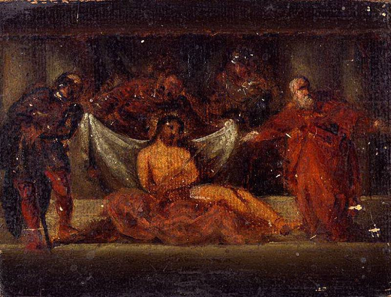 Ecce Homo, after Tintoretto. William Etty