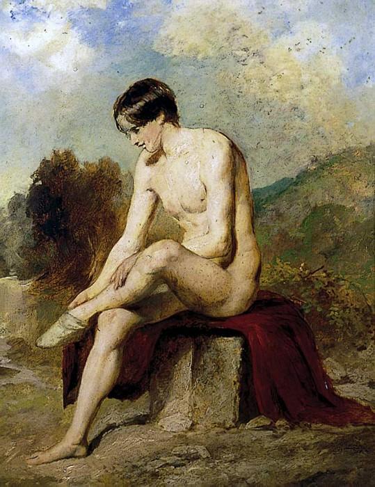 A Bather. William Etty