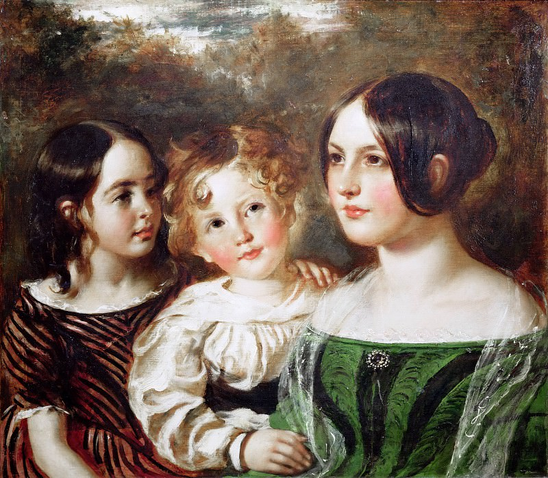 Portrait of the Wood Children. William Etty