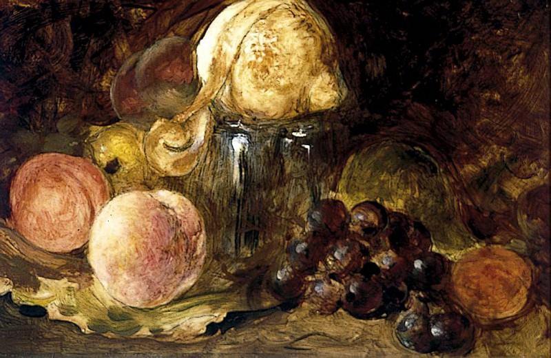 Лимоны, персики и орехи. Уильям Этти