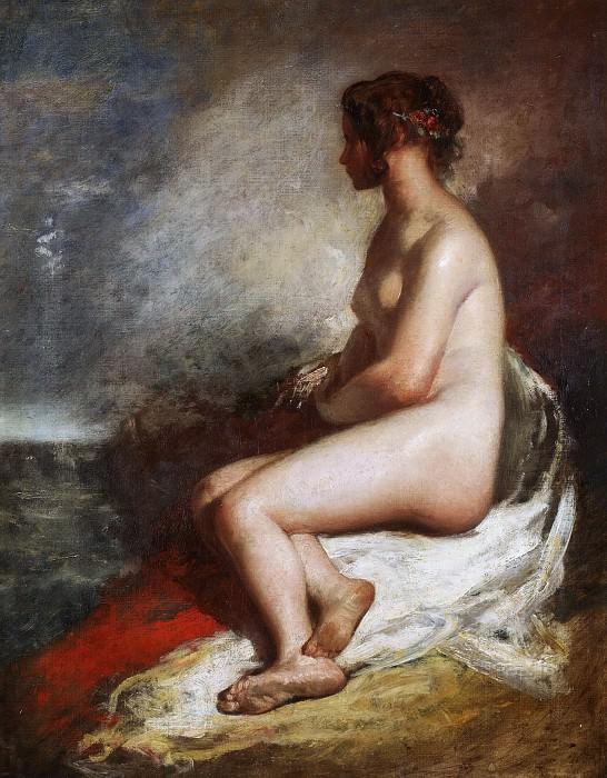 Seated Nude. William Etty
