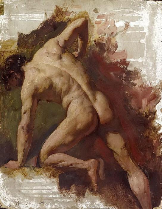 Male nude. William Etty
