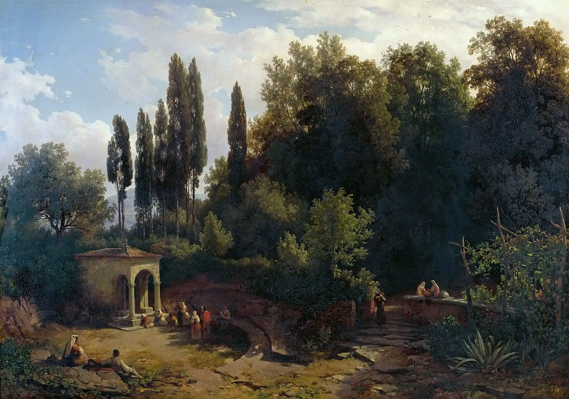 Часовня на римских холмах. Томас Эндер