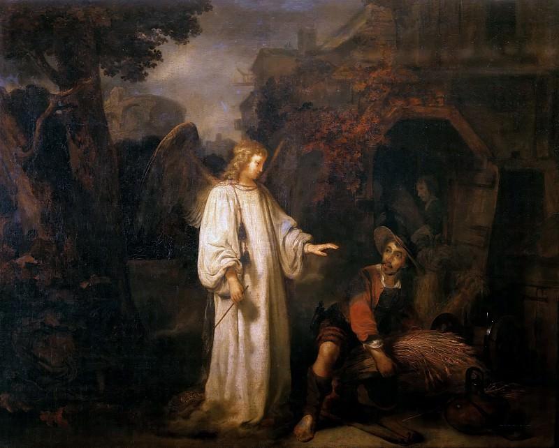 Angel Appears to Gideon. Gerbrand van den Eeckhout