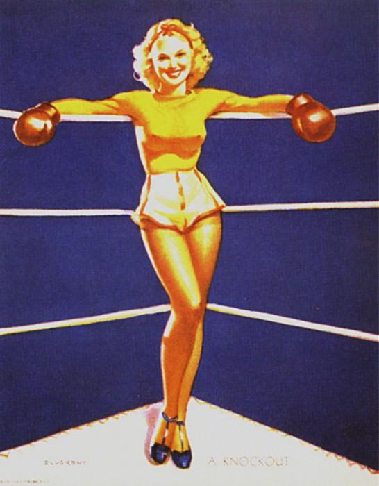GCGEPU-015 1939 A Knockout. Джил Элвгрен