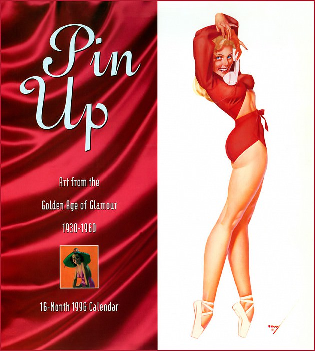 p Avalanche Pinup Cal1996 Front. Gil Elvgren