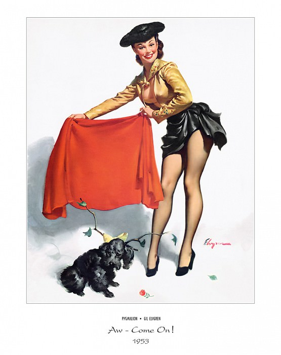 PYG GE 061 Aw Come On 1953. Джил Элвгрен