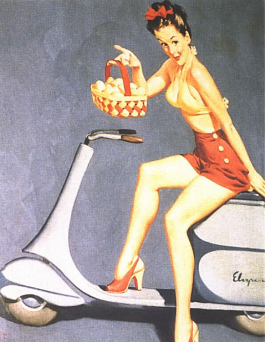 GCGEPU-087 1946 Havent I Got Swell Eggs. Gil Elvgren