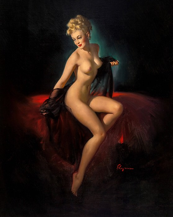 Vision of Beauty. Gil Elvgren