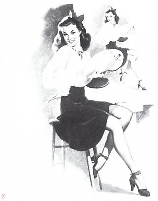 GCGEPU-021 1949 Miss Sylvania. Gil Elvgren