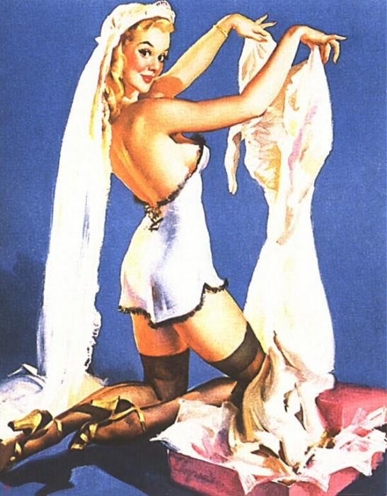 GCGEPU-076 1948 He Wants to Stay Single-But Id Rather Knot. Gil Elvgren