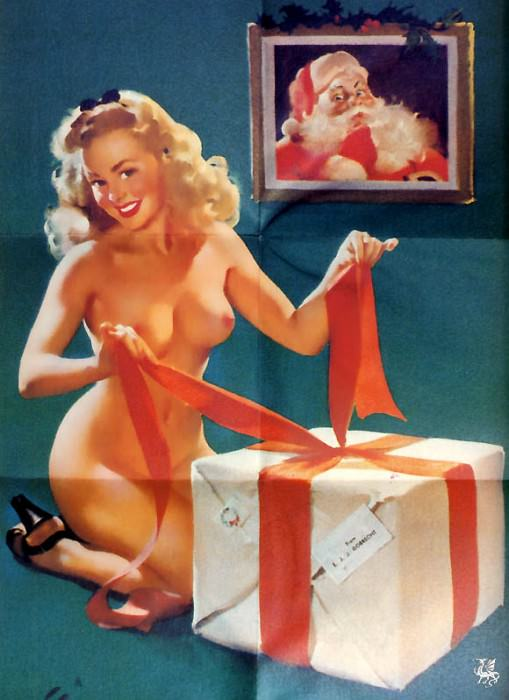 ma Elvgren Surprise Package. Gil Elvgren