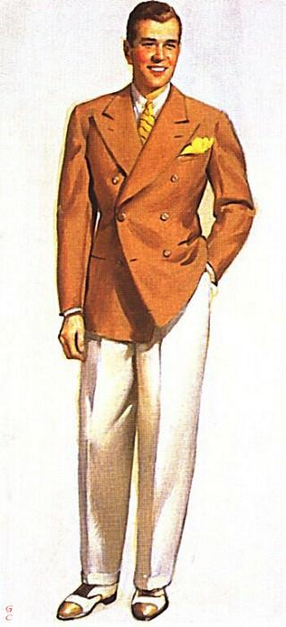 GCGEPU-010 1936 Fashion catalogue cover. Gil Elvgren