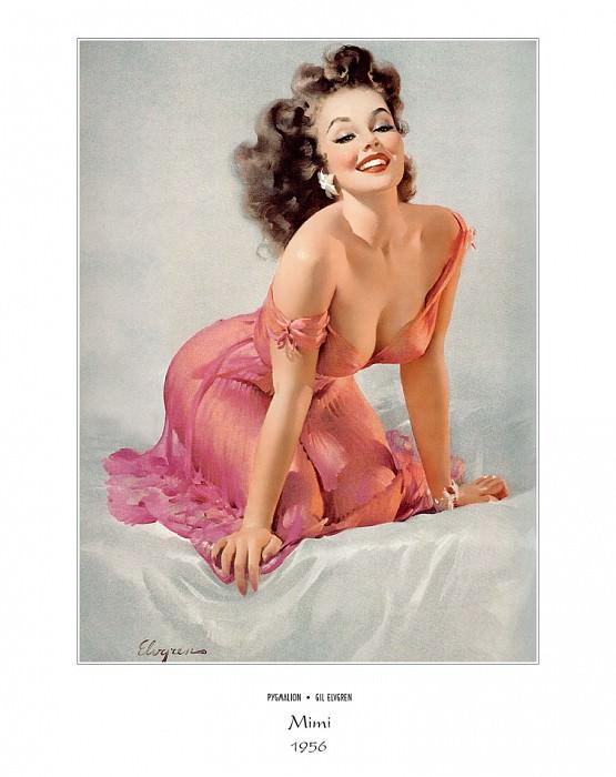 PYG GE 021 Mimi Sweet Dreams 1956. Джил Элвгрен