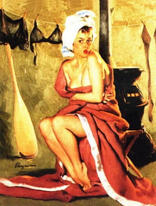 GCGEPU-170 1952 Blanket Coverage. Джил Элвгрен