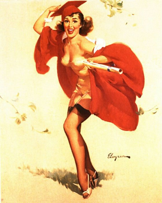 GCGEPU-147 1958 Success. Gil Elvgren