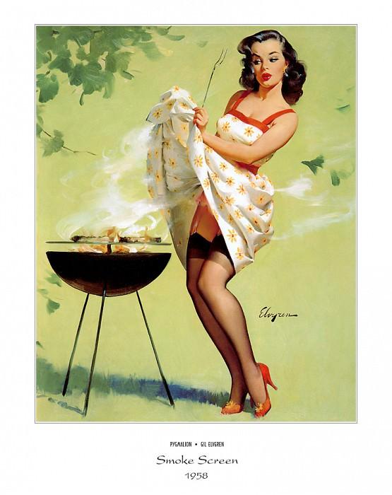 PYG GE 018 Smoke Screen 1958. Джил Элвгрен