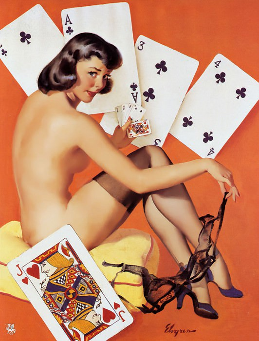 ma Elvgren What a Deal. Gil Elvgren