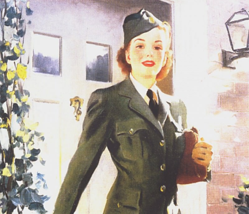GCGEPU-016 1942 She Knows What Freedom Really Means. Gil Elvgren