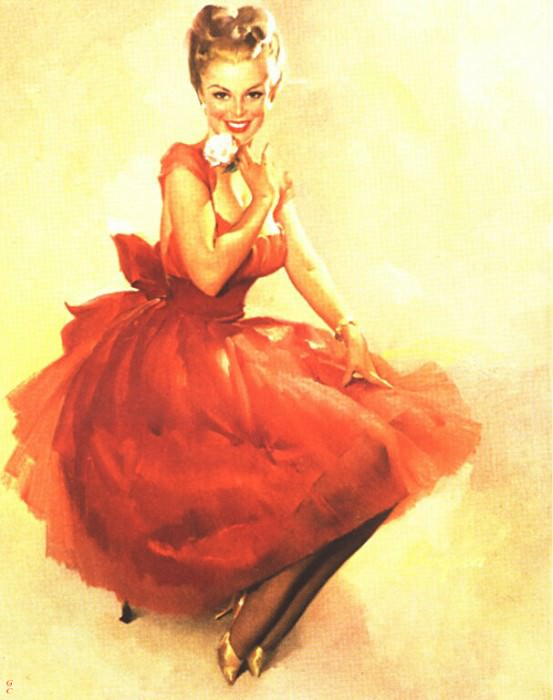 GCGEPU-042 1965 Meant For You. Gil Elvgren