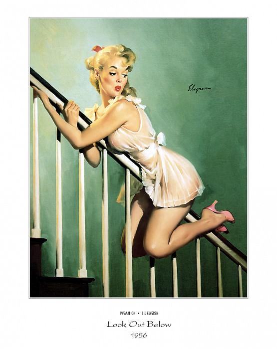 PYG GE 007 Look Out Below Easy Does It 1956. Джил Элвгрен