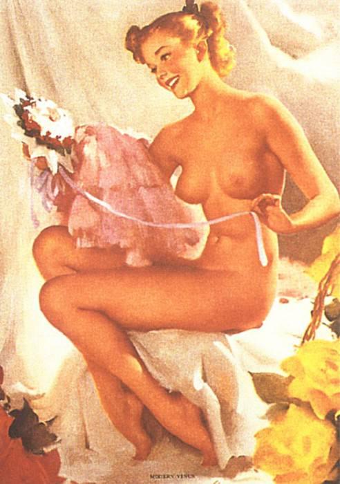 GCGEPU-025 1949 Modern Venus. Gil Elvgren
