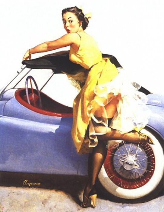 GCGEPU-070 1955 Cover Up. Джил Элвгрен