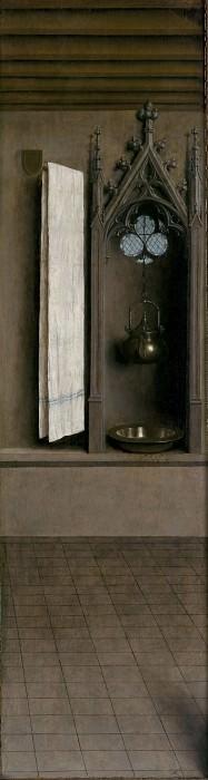Niche with Wash Basin. Jan van Eyck