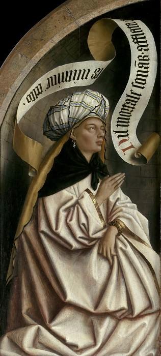 Erythraean Sibyl. Jan van Eyck