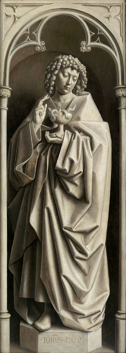 St. John the Evangelist. Jan van Eyck