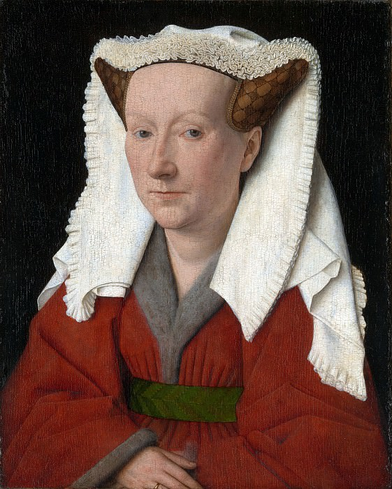 Margaret, the Artist wife. Jan van Eyck