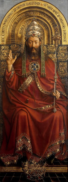 God Almighty. Jan van Eyck